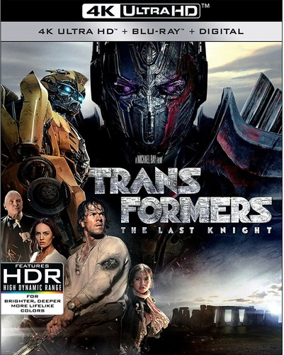 Transformers: The Last Knight [4K Ultra HD Blu-ray/Blu-ray]