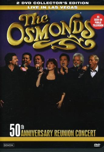 The Osmonds: Live in Las Vegas: 50th Anniversary Reunion Concert