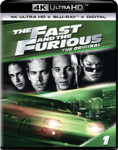Fast and the Furious [4K Ultra HD Blu-ray/Blu-ray]