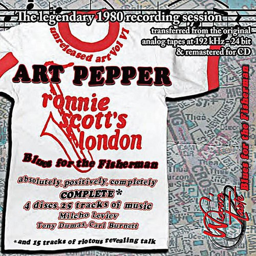 Blues for the Fisherman: Unreleased Art Pepper Vol
