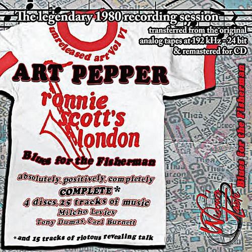 Blues for the Fisherman: Unreleased Art Pepper Vol