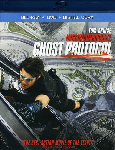 Mission: Impossible - Ghost Protocol [2 Discs] [Blu-ray/DVD] [UltraViolet]