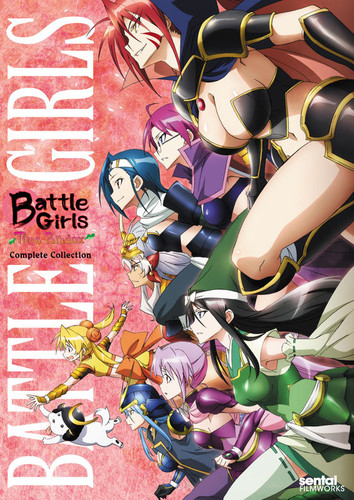Battle Girls Time Paradox: Complete Collection