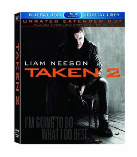 Taken 2 [Unrated/Theatrical] [2 Discs] [Blu-ray/DVD]