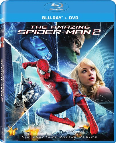 Amazing Spider-Man 2 [2 Discs] [Ultraviolet] [Blu-ray/DVD]