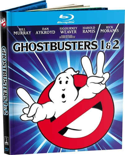 Ghostbusters 1 & 2: Mastered in 4K [UltraViolet] [Blu-ray]