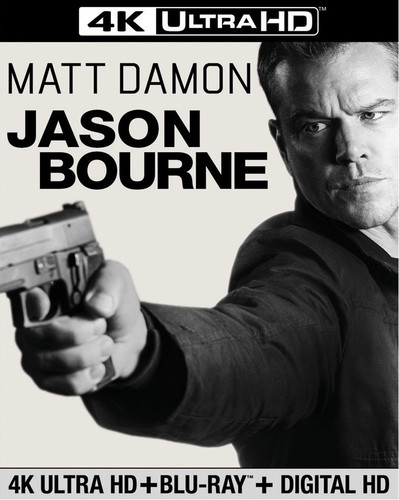 Jason Bourne [4K Ultra HD Blu-ray/Blu-ray]