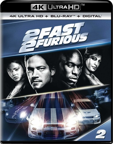 2 Fast 2 Furious [4K Ultra HD Blu-ray/Blu-ray]