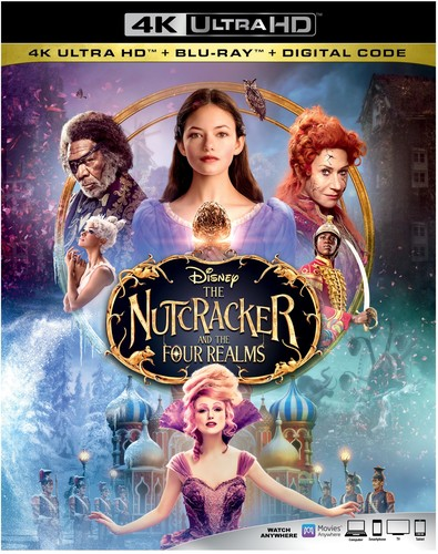 Nutcracker and the Four Realms [4K Ultra HD Blu-ray/Blu-ray]
