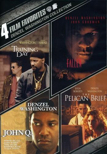 4 Film Favorites: Denzel Washington Collection