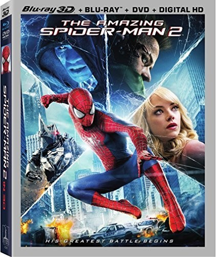 Amazing Spider-Man 2 [Ultraviolet] [3D] [Blu-ray/DVD]