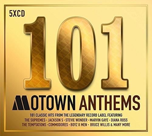 101 Motown Anthems /  Various [Import]