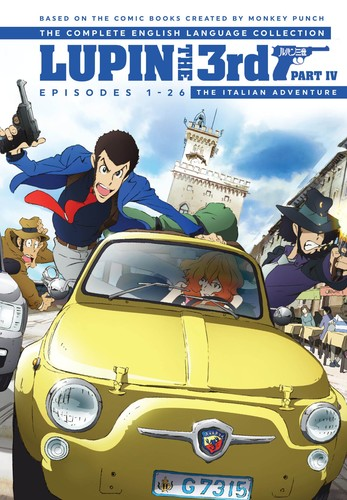Lupin The 3rd Part Iv The Italian Adventure