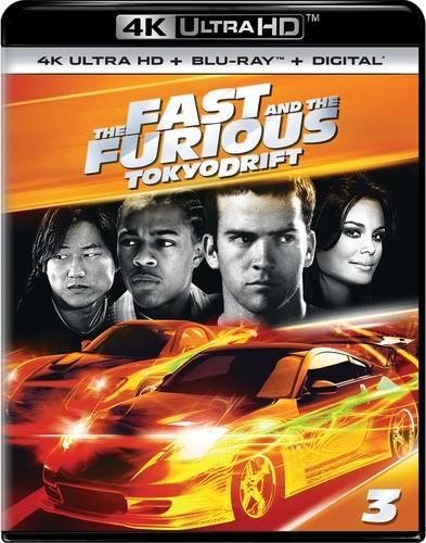 Fast and the Furious: Tokyo Drift [4K Ultra HD Blu-ray/Blu-ray]