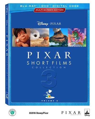 Pixar Short Films Collection, Vol. 3 [Blu-ray/DVD]