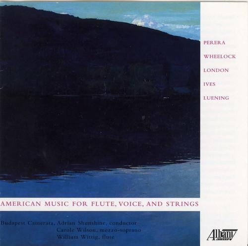 American Music for Flute Voice & Strings /  Various