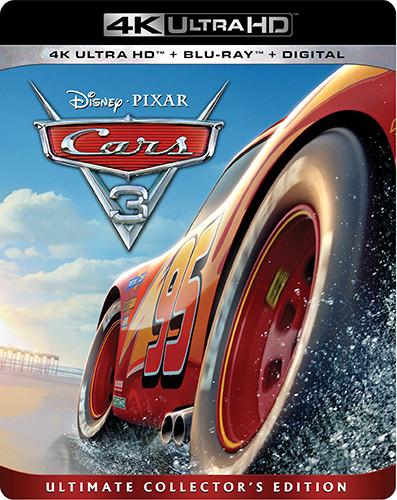 Cars 3 [4K Ultra HD Blu-ray/Blu-ray]