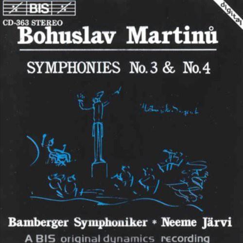 Symphonies 3 & 4