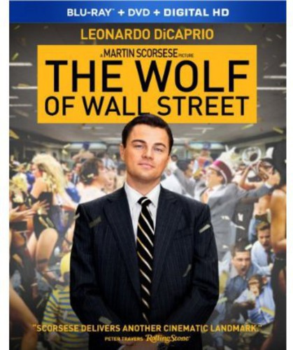 Wolf of Wall Street [2 Discs] [Blu-ray/DVD] [UltraViolet]