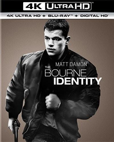 Bourne Identity [4K Ultra HD Blu-ray/Blu-ray] [UltraViolet]