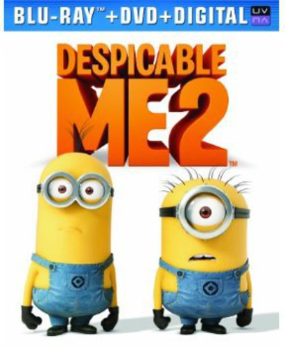 Despicable Me 2 [2 Discs] [Ultraviolet] [Blu-ray/DVD]
