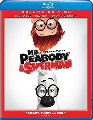 Mr. Peabody & Sherman [3D/2D] [Blu-ray/DVD] [DTS]