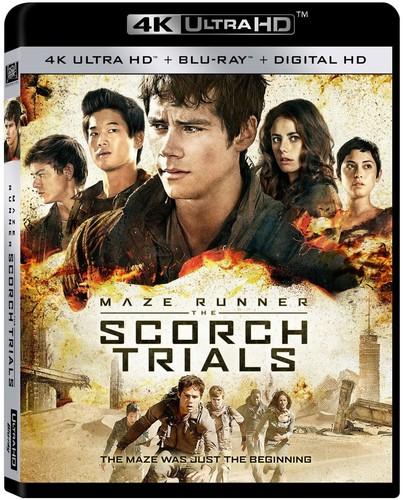 Maze Runner: The Scorch Trials [4K Ultra HD Blu-ray/Blu-ray]