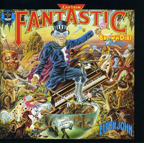 Elton John-Captain Fantastic & Brown Dirt Cowboy (remastered)
