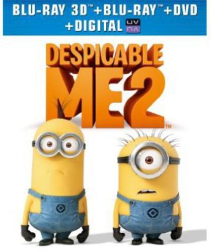 Despicable Me 2 [3 Discs] [Ultraviolet] [3D/2D] [Blu-ray/DVD]