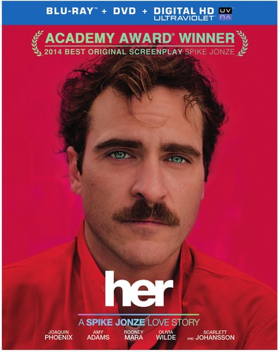 Her [2 Discs] [UltraViolet] [Blu-ray/DVD]