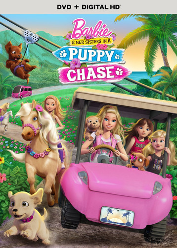 Barbie and Her Sisters in a Puppy Chase [UltraViolet]