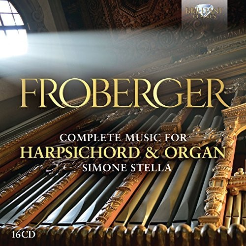 FROBERGER: COMPLETE MUSIC FOR HARPSICHORD & ORGAN