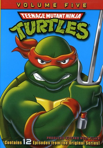 Teenage Mutant Ninja Turtles Season 5 Full Frame Dolby On