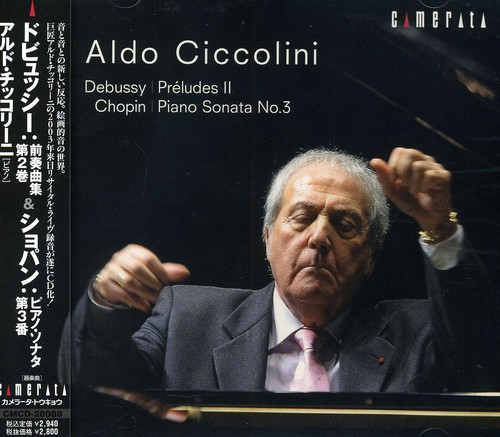 Aldo Ciccolini Plays Debussy & Chopin