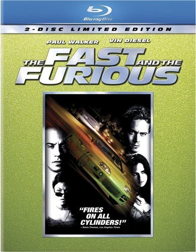 Fast and the Furious [Limited Edition] [Blu-ray]