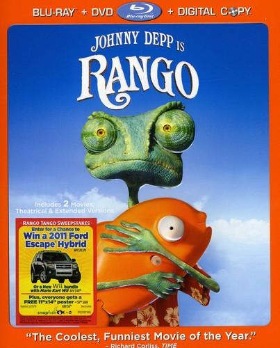 Rango [2 Discs] [Blu-ray/DVD]