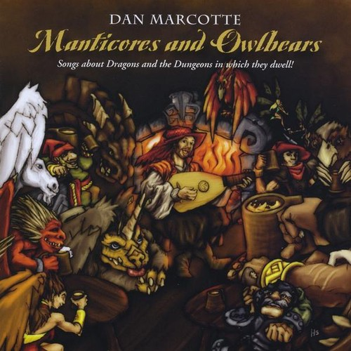 Manticores and Owlbears