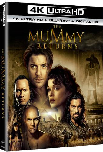 Mummy Returns [UltraViolet] [4K Ultra HD Blu-ray] [2 Discs]