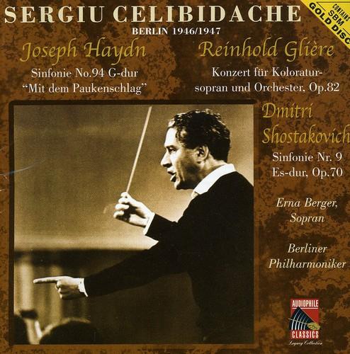 Shostakovich: Sym No 9 /  Haydn: Sym No 94