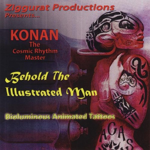 Behold the Illustrated Man: Bioluminous Animated T