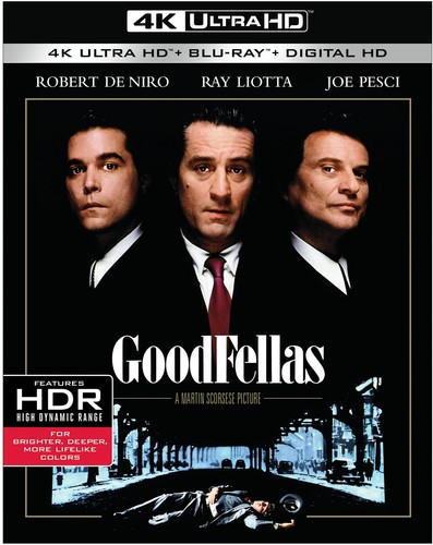 Goodfellas [4K Ultra HD Blu-ray/Blu-ray] [UltraViolet]