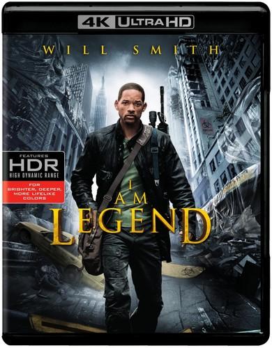 I Am Legend [4K Ultra HD Blu-ray/Blu-ray] [UltraViolet]