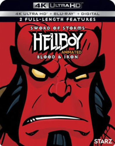 Hellboy Animated Double Feature [4K Ultra HD Blu-ray]