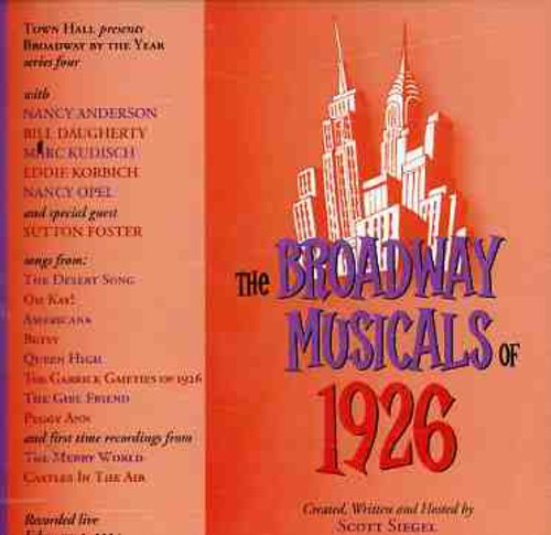 Broadway Musicals Of 1926
