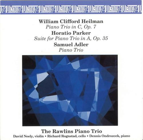 Three American Piano Trios