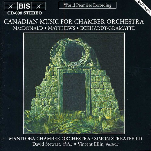 Canadian Music for Chamber Orchestra /  Various