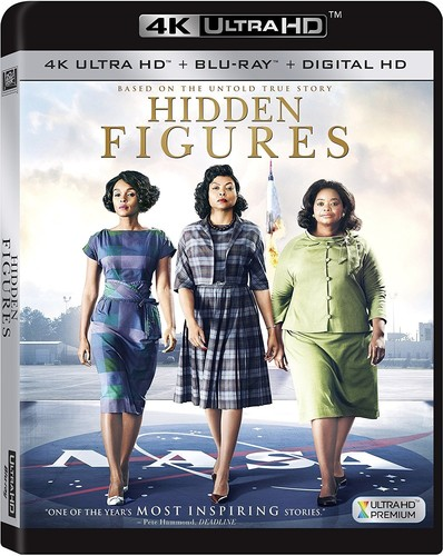 Hidden Figures [4K Ultra HD Blu-ray/Blu-ray]