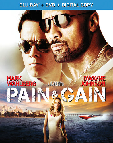 Pain & Gain [2 Discs] [Blu-ray/DVD]