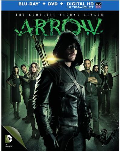 Arrow: The Complete Second Season [9 Discs] [UltraViolet] [Blu-ray/DVD]