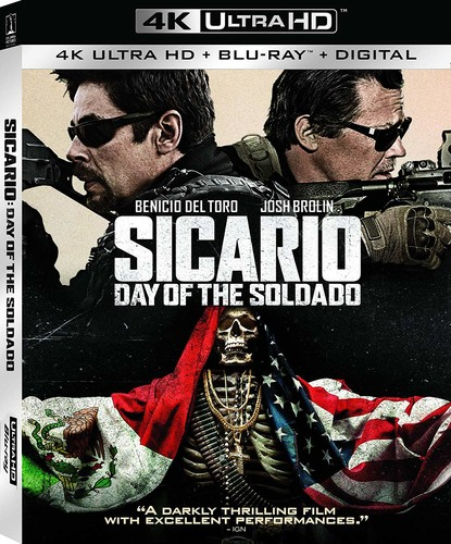 Sicario: Day of the Soldado [4K Ultra HD Blu-ray/Blu-ray]